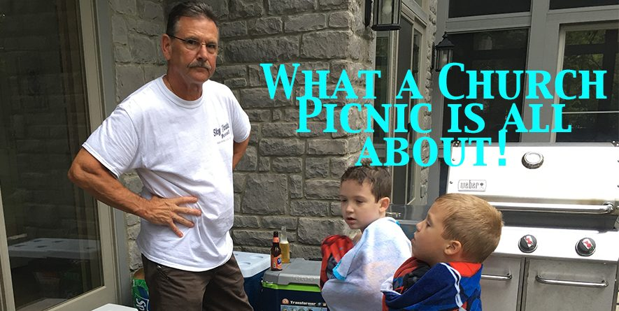 St. Augustine's Annual Church Picnic and Funbash on August 20th