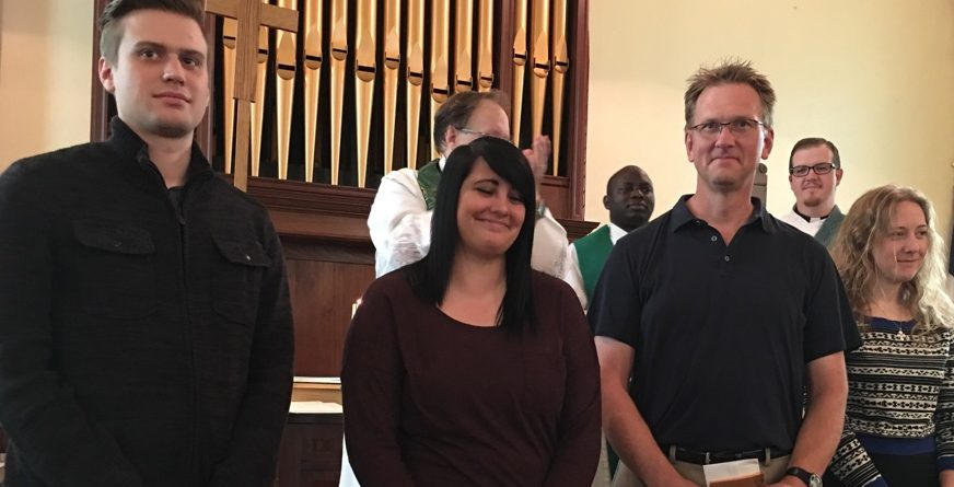 Celebration of New Members at St. Augustine's