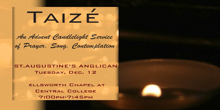 Taize Service in the Season of Advent on December 12