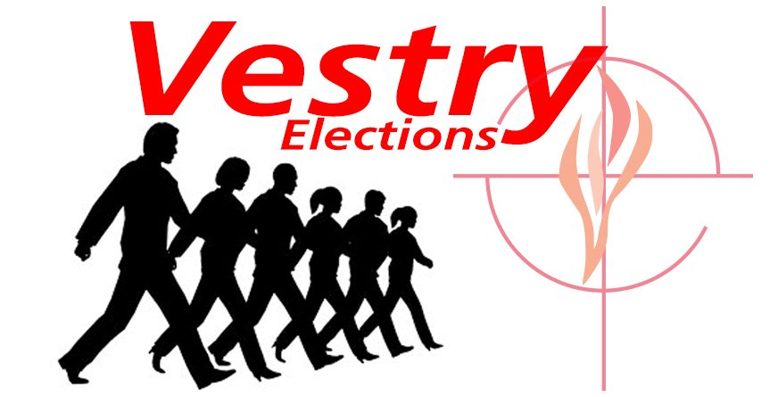 Vestry Elections on November 13th: Three Positions Open