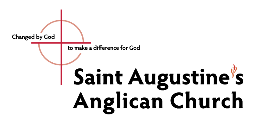 St. Augustine's Logo with Print